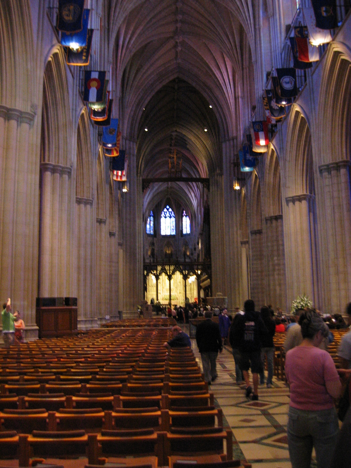 Nave looking towards High Alter