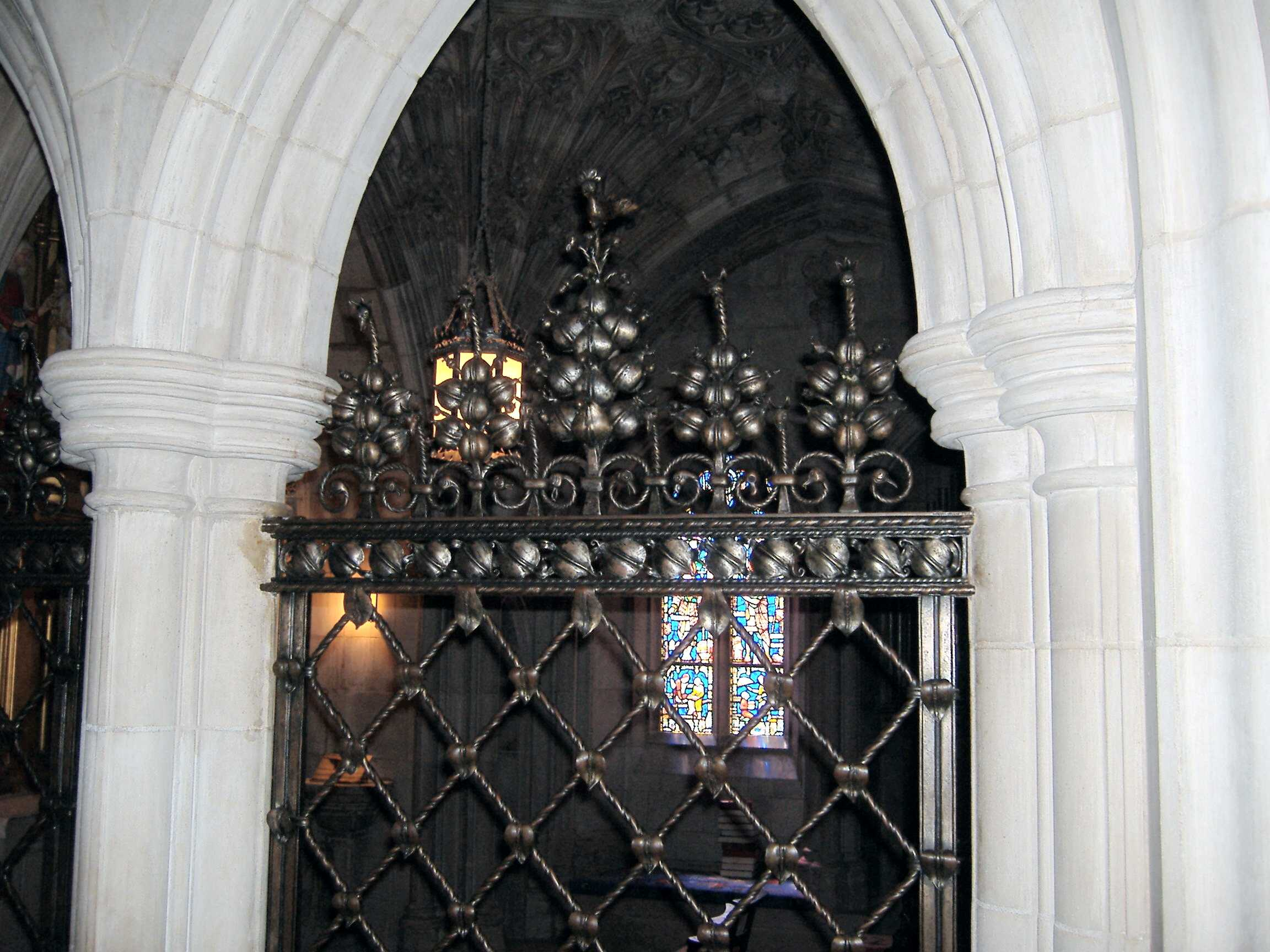 Childrens Chapel Grille by Samuel Yellin