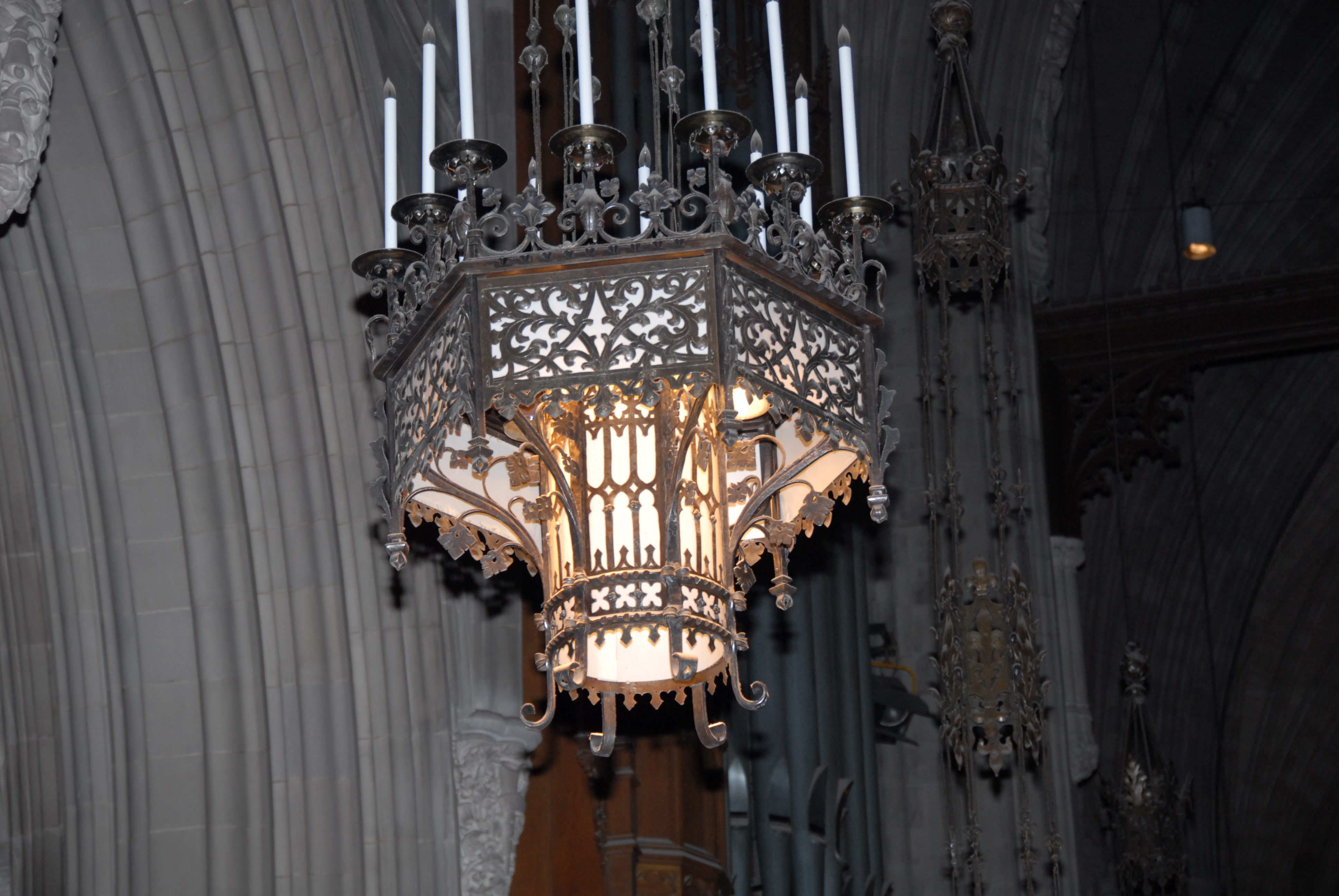 Great Choir Chandeliers by Walter Kantack