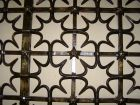 St Mary's Chapel Grille by Samuel Yellin 1933 Quatrefoil with 5...